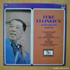 Discos de vinilo: DUKE ELLINGTON - DUKE ELLINGTON AT CARNEGIE HALL - LP. Lote 246434460