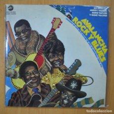 Discos de vinilo: VARIOUS - AVALANCHA ROCK Y BLUES - 2 LP GATEFOLD. Lote 246434660