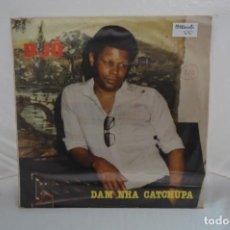 Discos de vinilo: VINILO 12´´ - LP - DJO - DAM NHA CATCHUPA / INTERCONTINENTAL FONOGRAFICA - IEFE -045. Lote 246434720