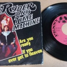 Discos de vinilo: PAUL RYDER AND TIME MACHINE / ARE YOU READY / SINGLE 7 PULGADAS. Lote 246437020