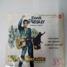 Discos de vinilo: ELVIS PRESLEY-KING CREOLE. Lote 246437765