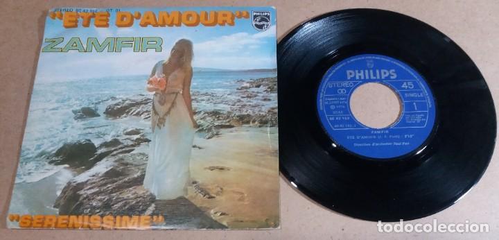 ZAMFIR / ETE D'AMOUR / SINGLE 7 PULGADAS (Música - Discos - Singles Vinilo - Otros estilos)