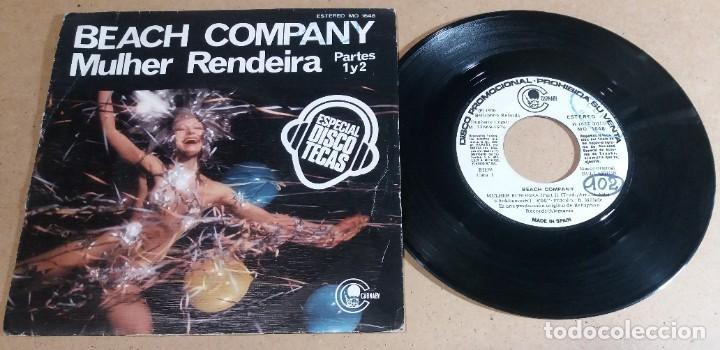 BEACH COMPANY / MULHER RENDEIRA / SINGLE 7 PULGADAS (Música - Discos - Singles Vinilo - Pop - Rock - Internacional de los 70)