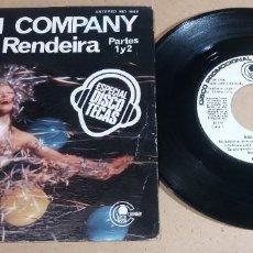 Discos de vinilo: BEACH COMPANY / MULHER RENDEIRA / SINGLE 7 PULGADAS. Lote 246441475