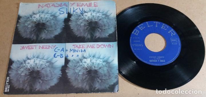NATASIA Y EMILE / SWEET NEENY / SINGLE 7 PULGADAS (Música - Discos - Singles Vinilo - Pop - Rock - Internacional de los 70)