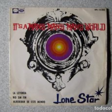 Discos de vinilo: LONE STAR.EN UN MUNDO DE HOMBRES + 3...PEDIDO MINIMO 5€...LEER ESTADO. Lote 246445760