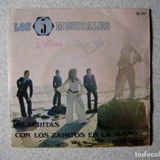 Discos de vinilo: LOS 5 MUSICALES.PALABRITAS + 1.....PEDIDO MINIMO 5€. Lote 246446010