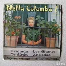 Discos de vinilo: NELLA COLOMBO.GRANADA + 3....PEDIDO MINIMO 5€. Lote 246450400