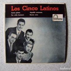 Discos de vinilo: LOS CINCO LATINOS..COME PRIMA + 3....PEDIDO MINIMO 5€. Lote 246450670