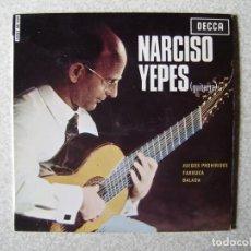 Discos de vinilo: NARCISO YEPES.JUEGOS PROHIBIDOS + 2....PEDIDO MINIMO 5€. Lote 246451285