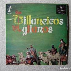 Discos de vinilo: VILLANCICOS GITANOS.LOS CAMPANILLEROS DE LA NAVIDAD + 3....PEDIDO MINIMO 5€. Lote 246451860
