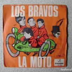 Discos de vinilo: LOS BRAVOS.LA MOTO + 1....PEDIDO MINIMO 5€. Lote 246452740