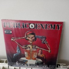 Discos de vinilo: PUBLIC ENEMY MUSE SICK-N-HOUR MESS AGE 2LP 1994. Lote 246460090