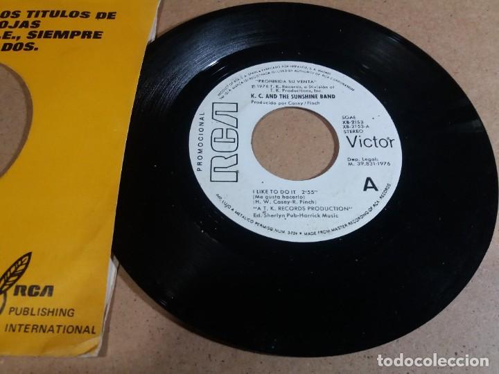 K. C. AND THE SUNSHINE BAND / I LIKE TO DO IT / SINGLE 7 PULGADAS (Música - Discos - Singles Vinilo - Pop - Rock - Internacional de los 70)