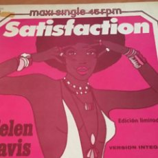 Discos de vinilo: HELEN DAVIS SATISFACTION 1978 PROMOCIONAL COVER ROLLINGS STONE. Lote 246342470