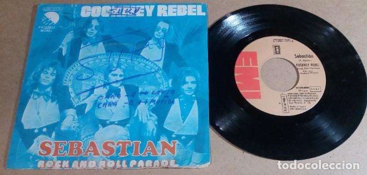 COCKNEY REBEL / SEBASTIAN / SINGLE 7 PULGADAS (Música - Discos - Singles Vinilo - Pop - Rock - Internacional de los 70)