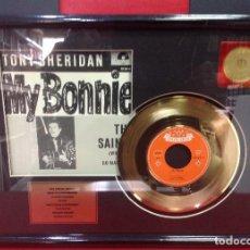 Discos de vinilo: DISCO DE ORO DEL SINGLE MY BONNIE, DE TONY SHERIDAN, EDICION COLECCIONISTAS, 33X43X4. Lote 246469730