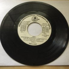 Discos de vinilo: ABBA SINGLE PROMOCIONAL - GRACIAS POR LA MUSICA / FERNANDO - ESPAÑA 1980 - RAREZA. Lote 246478220