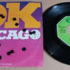 Discos de vinilo: RESONANCE / O.K. CHICAGO / SINGLE 7 PULGADAS. Lote 246480450