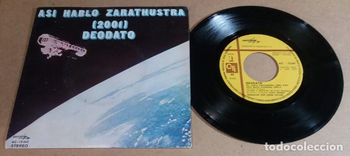 DEODATO / ASI HABLO ZARATHUSTRA / SINGLE 7 PULGADAS (Música - Discos - Singles Vinilo - Pop - Rock - Internacional de los 70)