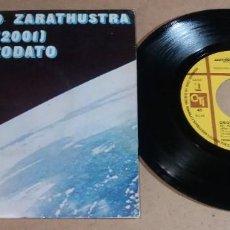 Discos de vinilo: DEODATO / ASI HABLO ZARATHUSTRA / SINGLE 7 PULGADAS. Lote 246481755
