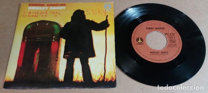 RONNIE HAWKINS / DIDDLEY DADDY / SINGLE 7 PULGADAS (Música - Discos - Singles Vinilo - Pop - Rock - Internacional de los 70)