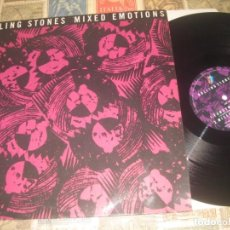 Discos de vinilo: ROLLING STONES* – MIXED EMOTIONS.ROLLING STONES RECORDS – 655193 6, CBS 1989 OG EUROPA. Lote 246489335