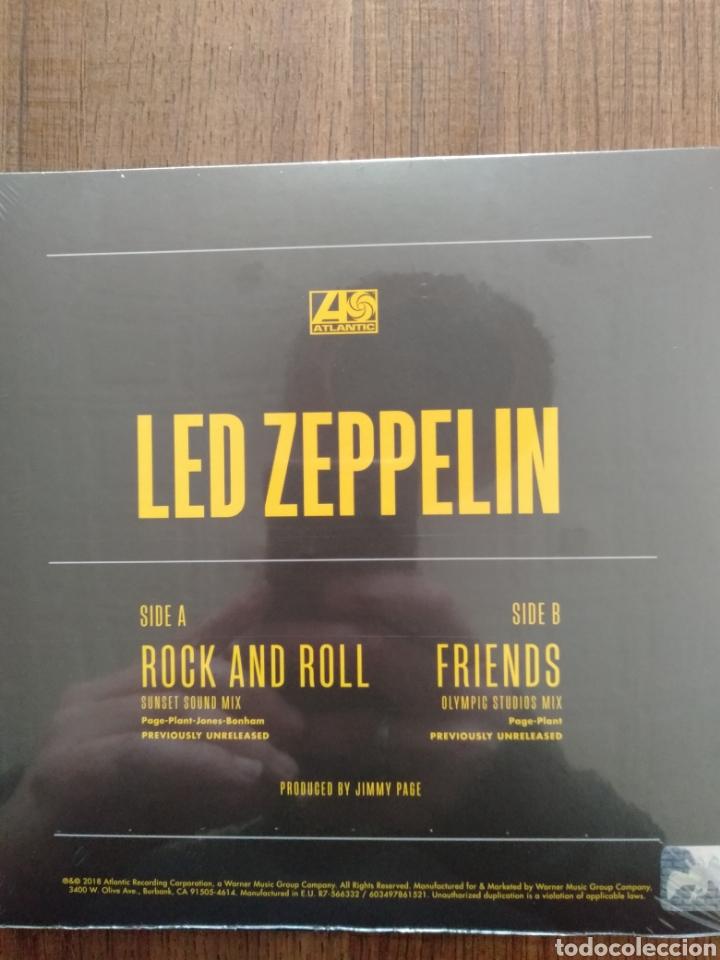 Discos de vinilo: Led Zeppelin. Single Límited Edition Yelow Vinyl. R.S.D. Exclusive. 2018. Edición E.U. - Foto 2 - 246489985