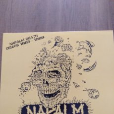 """Discos de vinilo: NAPALM DEATH """" DEMOS 1985 - 1986 """". EDICIÓN CANADÁ 2019. DIE 670. (DEATH METAL). Lote 246491335"""