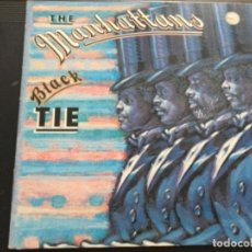 Discos de vinilo: THE MANHATTANS - BLACK TIE. Lote 246500650