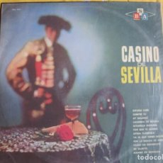 Disques de vinyle: LP - CASINO DE SEVILLA - ORQUESTA CASINO DE SEVILLA (BRASIL, DISCOS SBA SIN FECHA). Lote 246505125