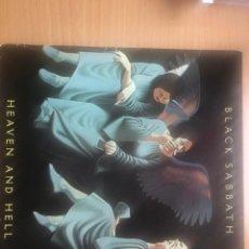 Disques de vinyle: BLACK SABBATH HEAVEN AND HELL LP. Lote 246507005