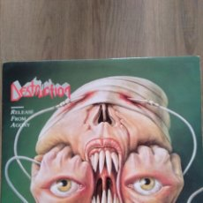 "Discos de vinilo: DESTRUCTION "" RELEASE FROM AGONY "". EDICIÓN CANADÁ. PROFILE RECORDS. 1988. TRASH METAL.. Lote 246512275"