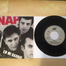 """Discos de vinilo: SNAP - EN MI BARRIO - SINGLE RADIO 7"""" - 1990. Lote 246516345"""