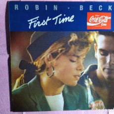 "Discos de vinilo: 12"" ROBIN BECK – FIRST TIME - MERCURY 870 620-1 - SPAIN PRESS - MAXI (EX+/EX+). Lote 246517480"
