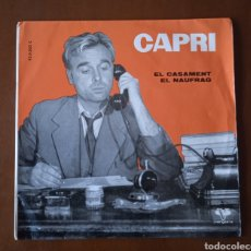 Discos de vinilo: SINGLE MONÓLOGOS HUMOR CATALÁN. CAPRI-MONÒLEGS.DISCOS VERGARA. 1961.. Lote 246519265