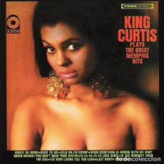 Discos de vinilo: KING CURTIS - PLAYS THE GREAT MEMPHIS HITS 1967 !! GROOVE FUNK SOUL / RARA ORG EDIT USA !! TODO EXC. Lote 149541402
