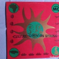 "Discos de vinilo: 12"" REBEL MC – CULTURE / COMIN' ON STRONG - DESIRE WANT X38 - UK PRESS - MAXI (EX/EX). Lote 246522975"