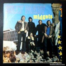 Discos de vinilo: MIDGETS - SILLY MARY / CINDY - SINGLE BELGA 1972 - FLY. Lote 246528245