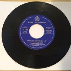 """Discos de vinilo: ALASKA Y LOS PEGAMOIDES - HORROR EN EL HIPERMERCADO / HOSPITAL / ODIO - SINGLE PROMO RADIO 7"""" - 1980. Lote 246528340"""