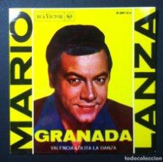 Discos de vinilo: MARIO LANZA - GRANADA - EP 1962 - RCA. Lote 246531350