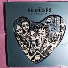 """Discos de vinilo: 12"""" THE SILENCERS – BULLETPROOF HEART - RCA PT 44316 (3A) - SPAIN PRESS - MAXI (EX+/EX+). Lote 246532210"""