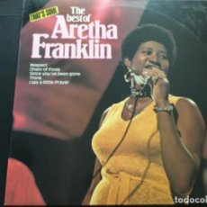 Discos de vinilo: ARETHA FRANKLIN - THE BEST OF. Lote 246534520