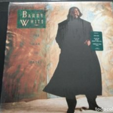 Discos de vinilo: BARRY WHITE - THE MAN IS BLACK .USA. Lote 246536950