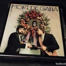 Discos de vinilo: LP-LA TRINCA- MORT DE GANA- AÑO 1973. Lote 246548650