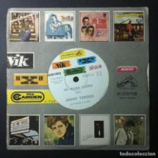 Discos de vinilo: JOHNY TEDESCO - CUANDO VERAS A MI CHICA (EN INTALIANO) / MI ALMA LLORO - SINGLE ARGENTINO PROMO -RCA. Lote 246549745