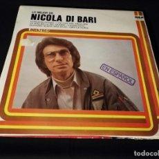 Discos de vinilo: LP-NICOLA DI BARI-LO MEJOR DE - AÑO 1977. Lote 246550135