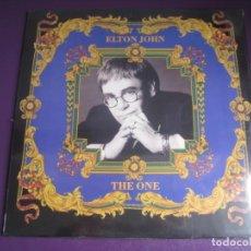 Discos de vinilo: ELTON JOHN – THE ONE - LP PHONOGRAM 1992 PRECINTADO - POP - VERSACE - TAUPIN. Lote 246551910
