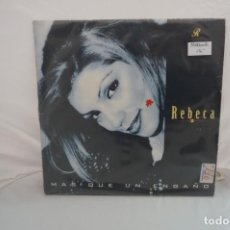 Discos de vinilo: VINILO 12´´ - MAXI-SINGLE - REBECA - MAS QUE UN ENGAÑO / MAX MUSIC. Lote 246552765