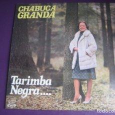 Discos de vinilo: CHABUCA GRANDA + FÉLIX CASAVERDE CAITRO SOTO + RICARDO MIRALLES – TARIMBA NEGRA - LP MOVIEPLAY 1978. Lote 246553720